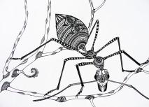 Green Tree Ant - 30x40cm original drawing £180