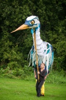 Greta the Heron