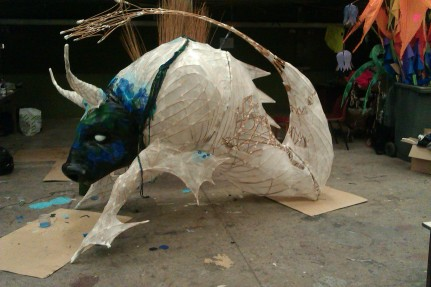 Sculpture of a Taroo Ushtey for Lime pictures production of Rockets Island