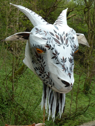 Goat sculpture for the Disney production of